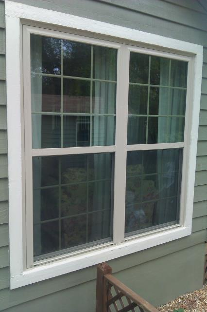 Measuring out for non impact Shwinco windows
