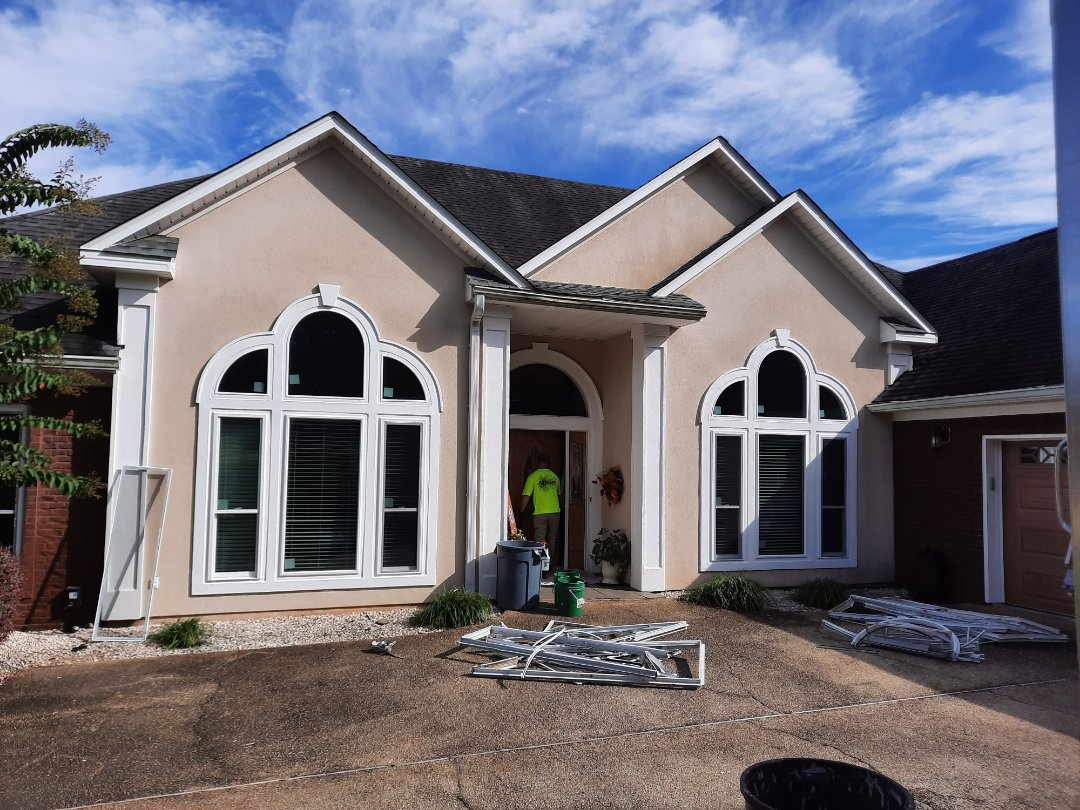 37 Viwinco Impact Windowes, installed cleaned and caulked by Folkers Window Company.