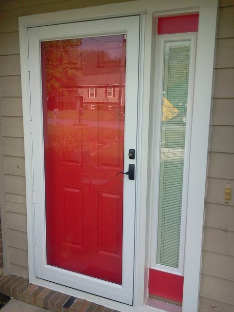 Milton, FL - Having Folkers measure for new Therma Tru doors