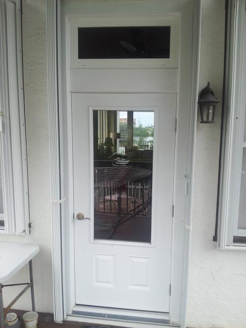 Niceville, FL - Getting a new Impact French door