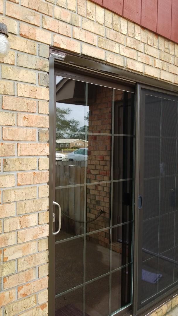 Fixing RWD on sliding glass door