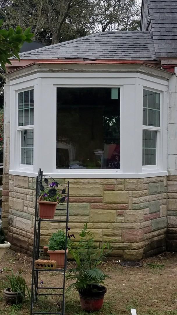 Installed Schwinco impact replacement windows