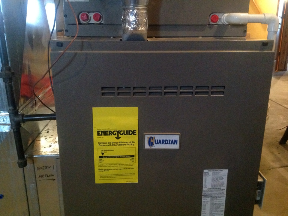 Eaton, CO - Repairing guardian furnace