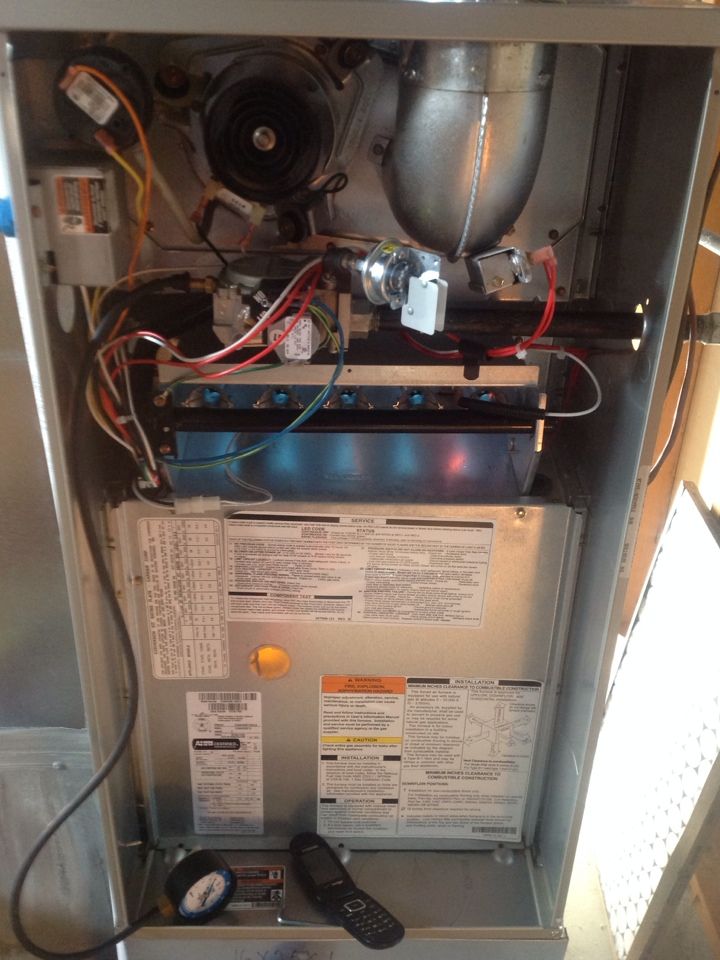 Platteville, CO - Preformed Maintenance on BRYANT Furnace.