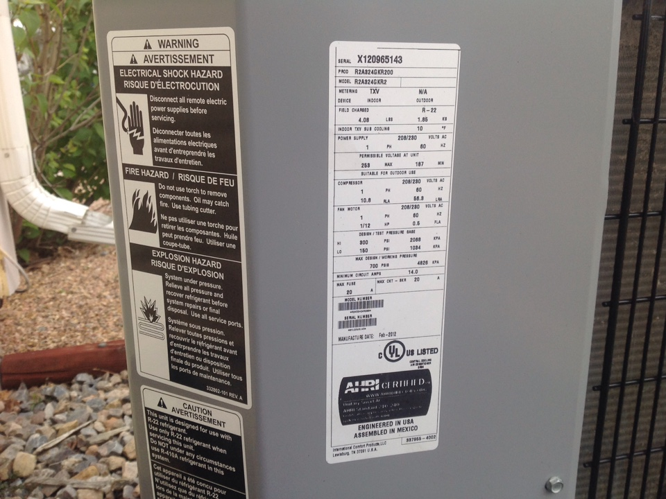 Milliken, CO - Home Air Conditioner Clean and tune up