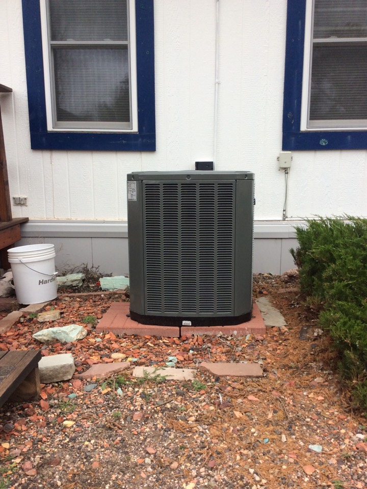 Wiggins, CO - Install Trane furnace, coil, and condensing unit.