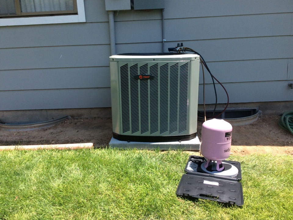 Windsor, CO - Install Trane a/c, and coil.