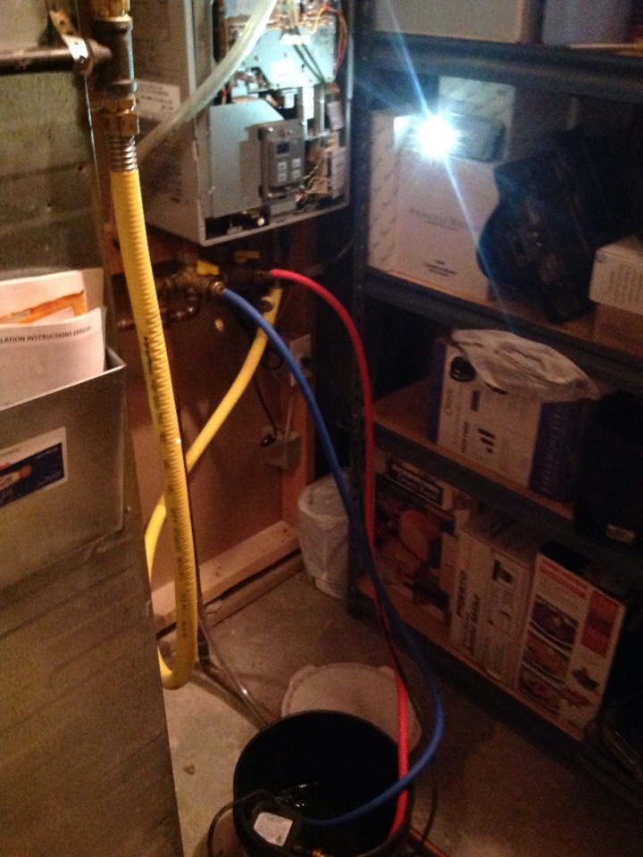 Windsor, CO - Annual maintenance and flush on Rinnai tankless water heater
