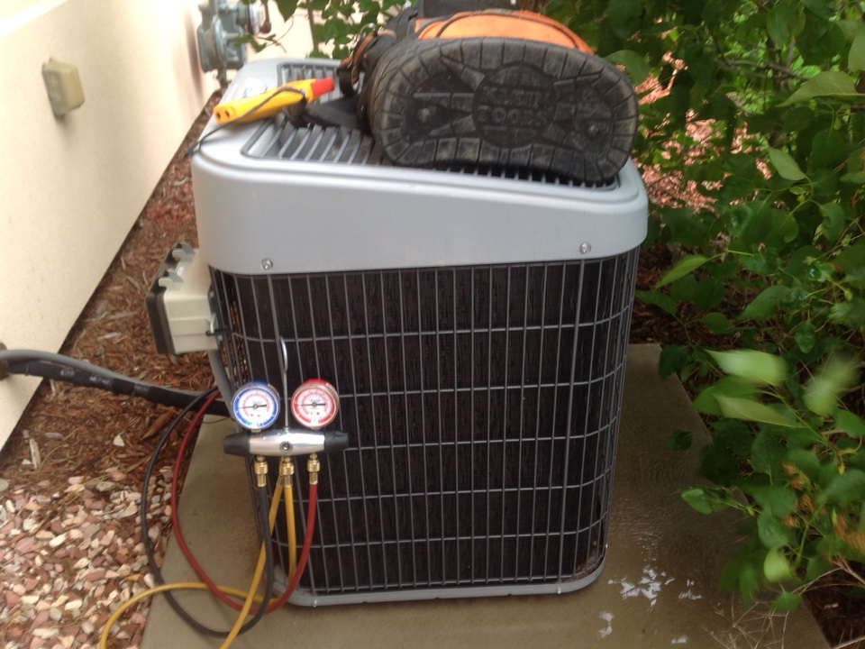 Platteville, CO - Spring tune up on a Tempstar Air conditioning system.