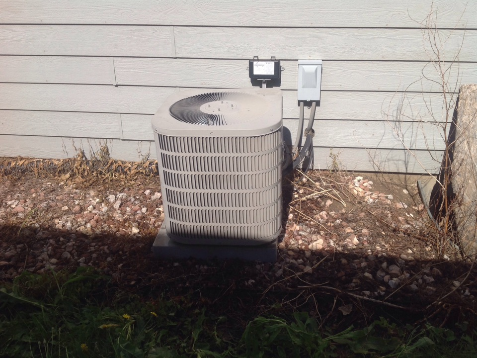 Loveland, CO - Repair on a Goodman Air Conditioner