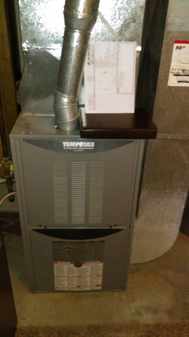 La Salle, CO - Free estimate to add high efficiency Trane air conditioning to a Temporary furnace.