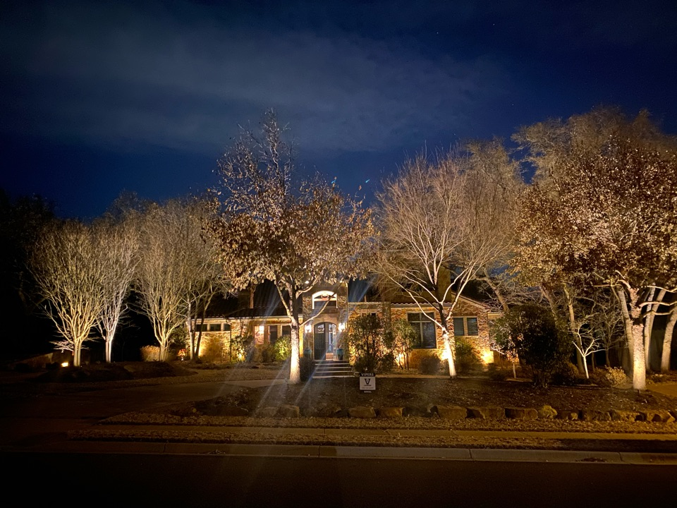 Beautifully lit River Place Home