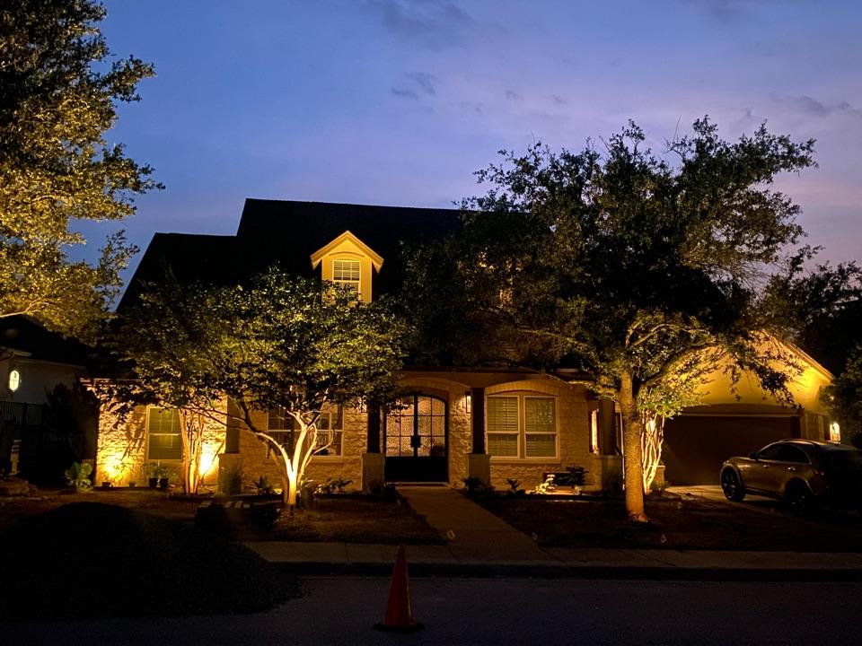 Austin, TX - Softly lit Barton Creek Home