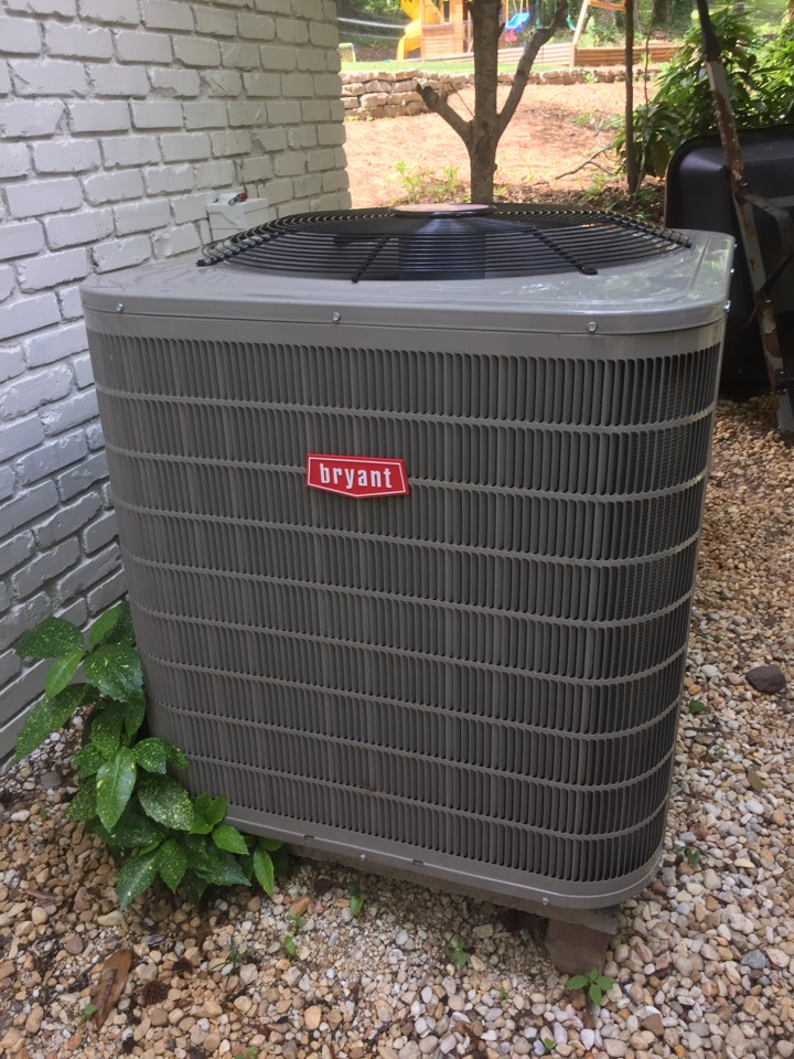 Mountain Brook, AL - Performed 2nd year inspection on Bryant Preferred 2 stage system we installed.