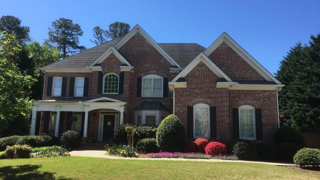 Roswell, GA - This beautiful house will look amazing with a new roof.