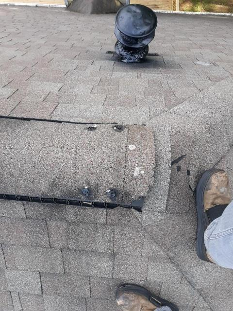 Dallas, GA - Seal, repair and replace. this roof is now good for a few more years! not every roof is a replacement!
