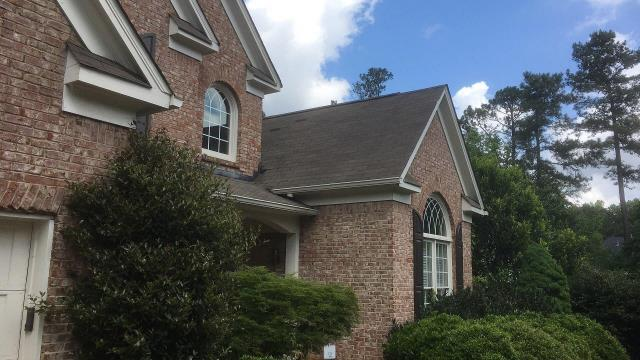 Alpharetta, GA - Missing shingles, roof replacement by insurance