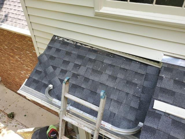 Roswell, GA - slipped shingles