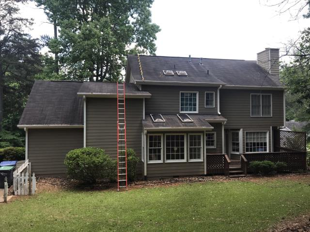 Kennesaw, GA - pipe boot repairs, caulking and overall roof maintenance complete.