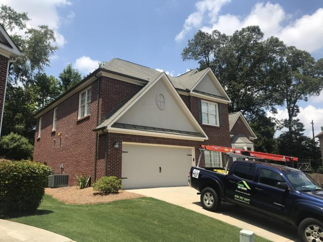 Smyrna, GA - This buyer needed a roof inspection before Due Diligence ends today! We managed to fit this homeowner in just in time! 🙂 Providing the buyer with a full inspection and quote for replacement!  Best of luck with your purchase Amy!
