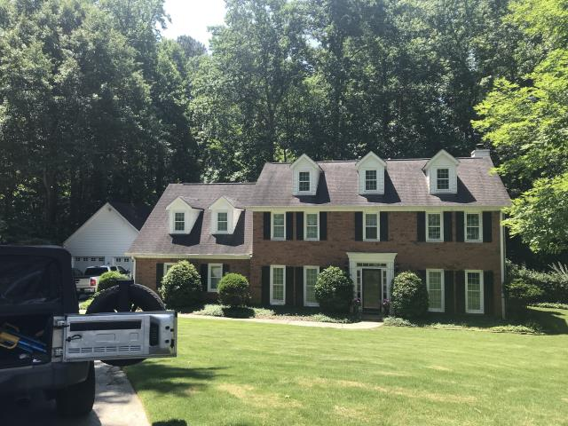 Marietta, GA - Replacing this roof today. 