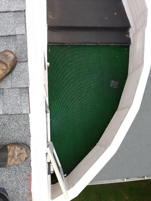 Roswell, GA - We roof the most unusual roofs! that is what keeps life interesting! Call today for your free inspection