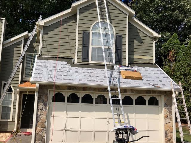 Smyrna, GA - this roof is now finished and looking great!