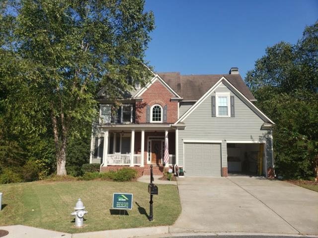 Marietta, GA - Upgraded this house the other day- the new roof has really upgraded this home!