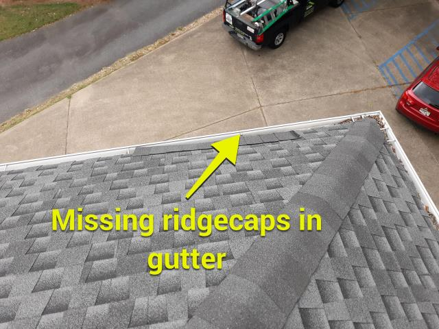 Marietta, GA - This roof has some minor issues, nothing a repair won't fix!