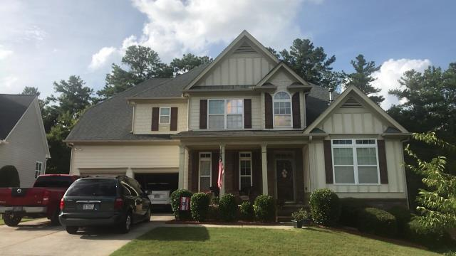 Dallas, GA - Atlas Chalet? We have you covered! We will be your advocate with insurance companies and help you get a full replacement for this.  Operating for over 10 years, only 5 star reviews,  call Georgia Roof Advisors - Roofing Company Atlanta, GA