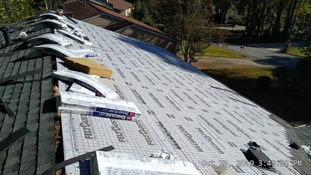 Roswell, GA - new roof installed, looking good!