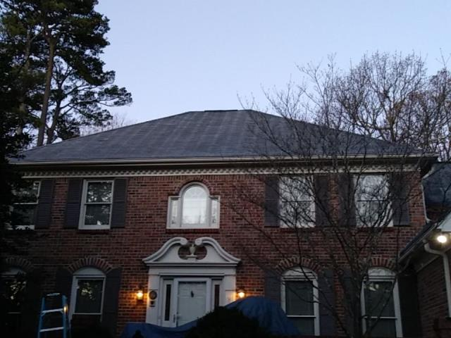 Doraville, GA - This new homeowner is getting a new roof today! 