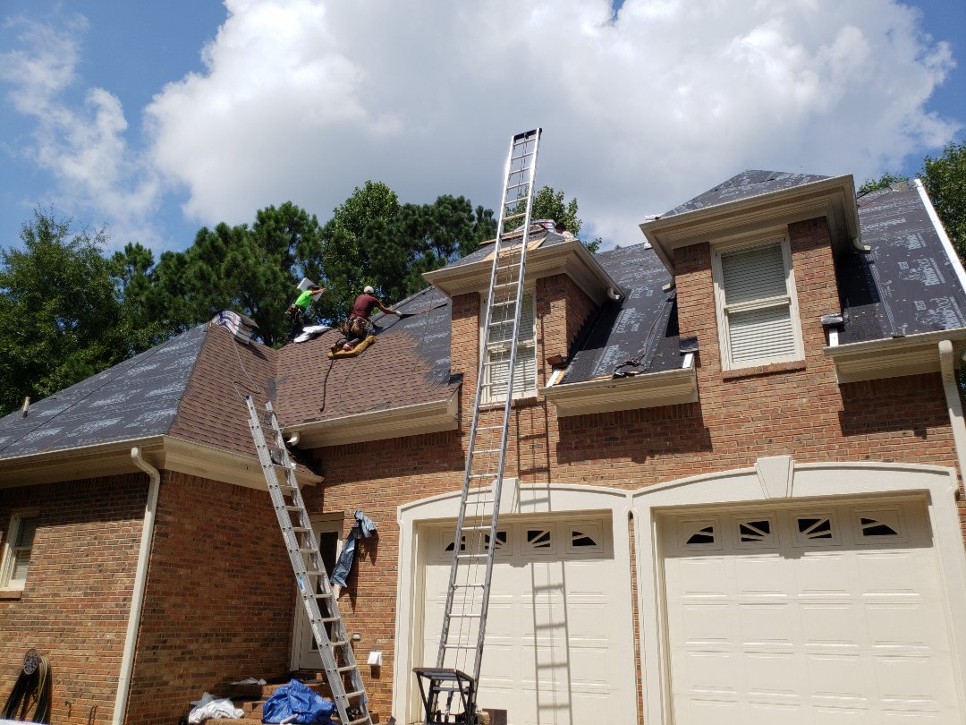 Kennesaw, GA - Beautiful color roof