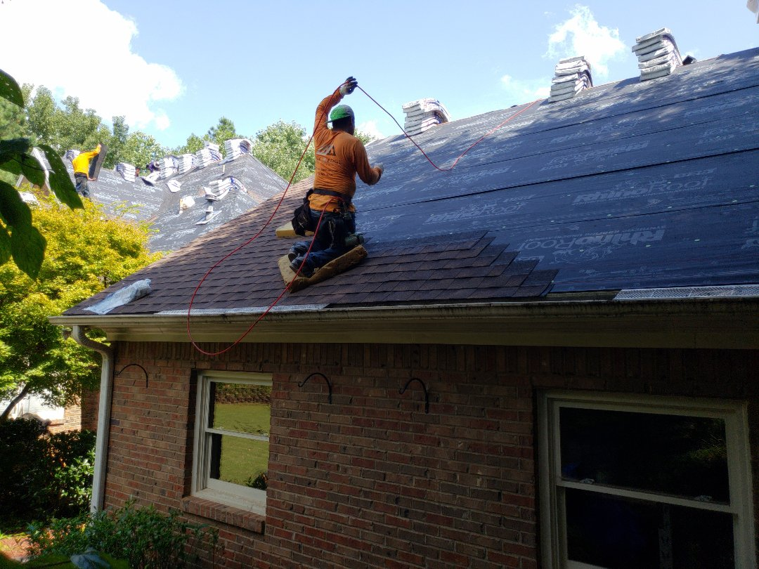 Kennesaw, GA - The proper way to install an architectural and/or dimensional shingle