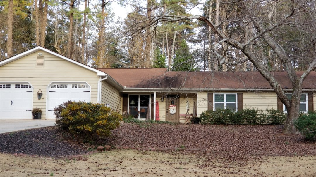 Marietta, GA - Taking a second look at a possible roof replacement in Marietta. Looks like it will be a repair as we didn't find hail damage or wind damage but we still have to take care of the roof leak so no more water gets in.