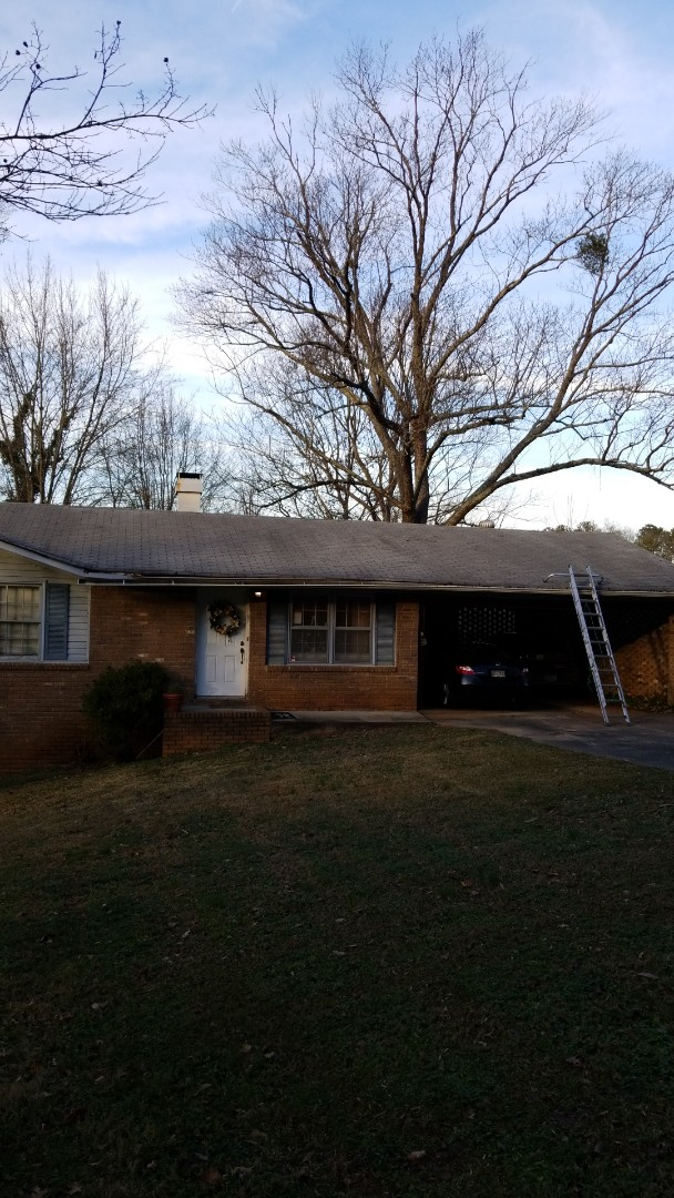 Smyrna, GA - Roof inspection in Smyrna for homeowners with possible hail damage and possible wind damage. Likely an insurance repair opportunity for them.