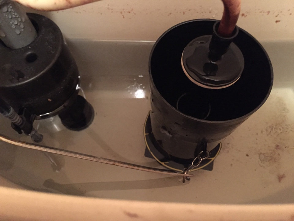 Rebuilt Kohler flush tower on toilet. Clogged bathtub drain. Snakes and cleared drain. Checked other plumbing items