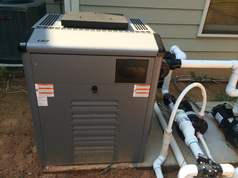 Estimate to run propane gas line to pool heater