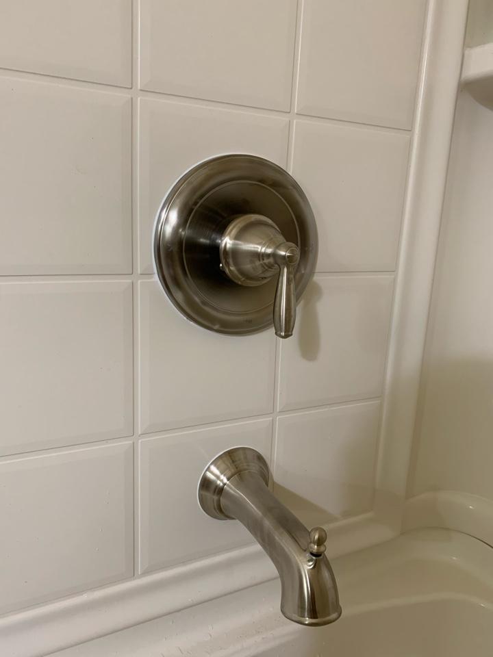 Cherry Hill, NJ - Installed shower diverter