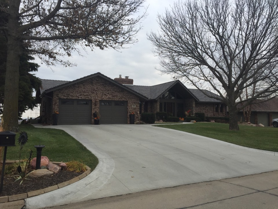 All finished with storm damage repair up in Blair, NE! Looks awesome!