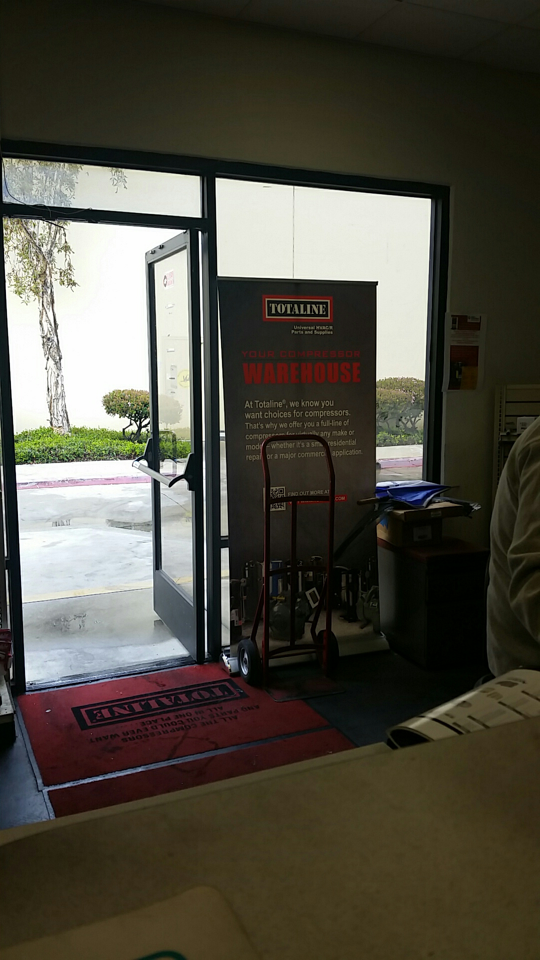 Brea, CA - Picking up some Carrier Factory Authorized Parts