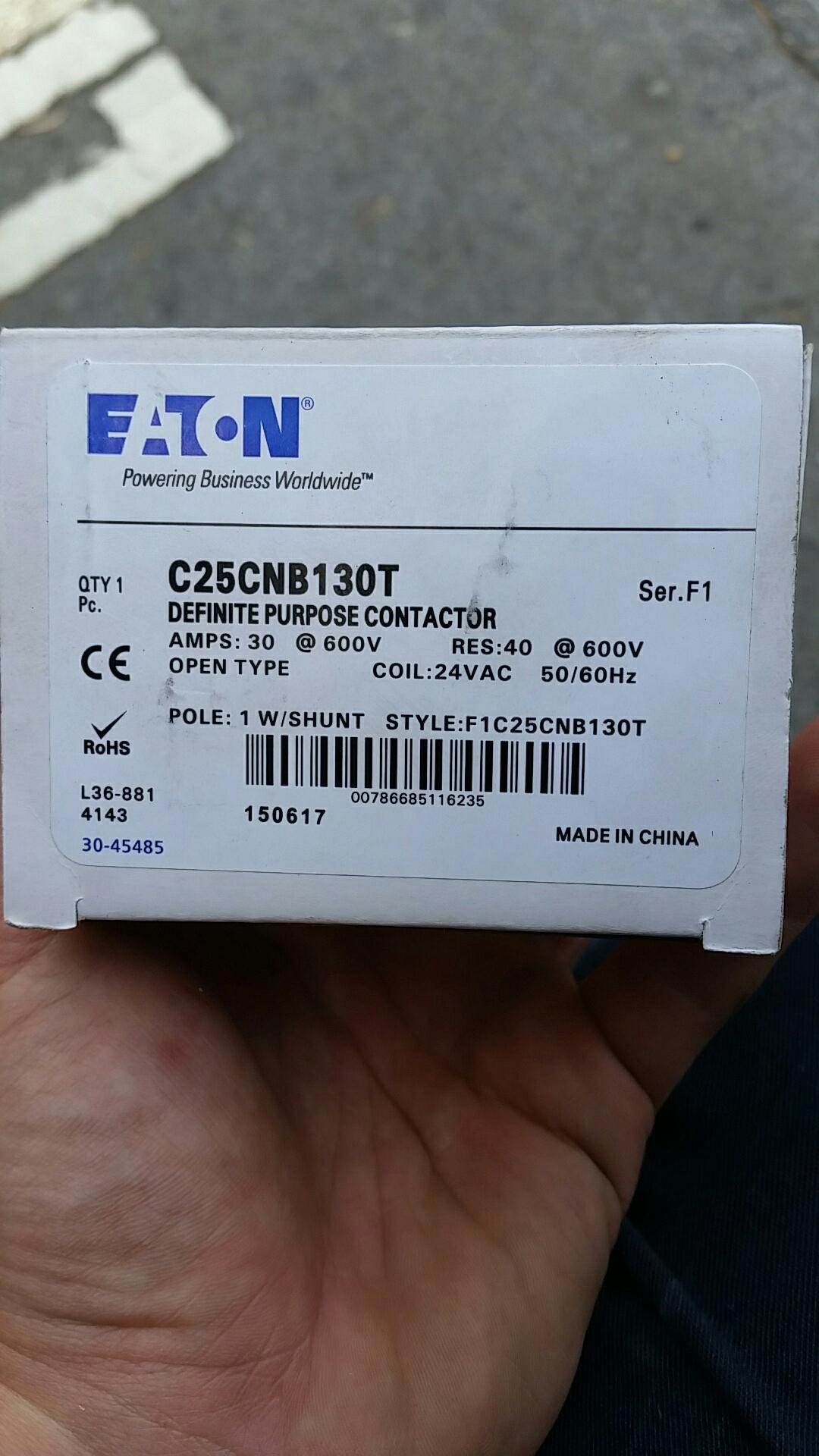 Laguna Beach, CA - Replace failed welded contactor on Rheem split system heat pump outdoor unit