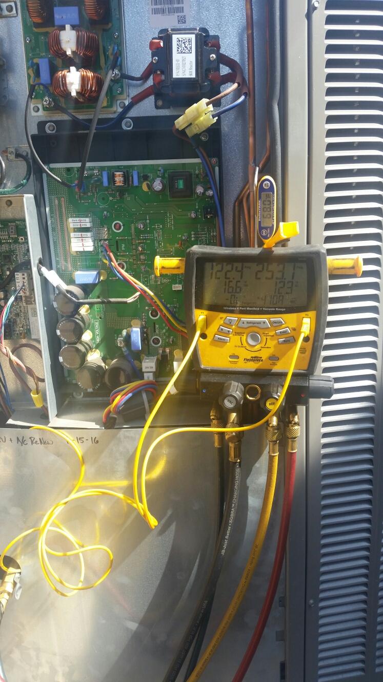 Yorba Linda, CA - Replace thermostatic expansion valve on Lennox split system