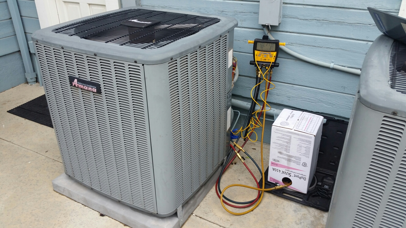 Laguna Hills, CA - Repair on Amana air conditioning