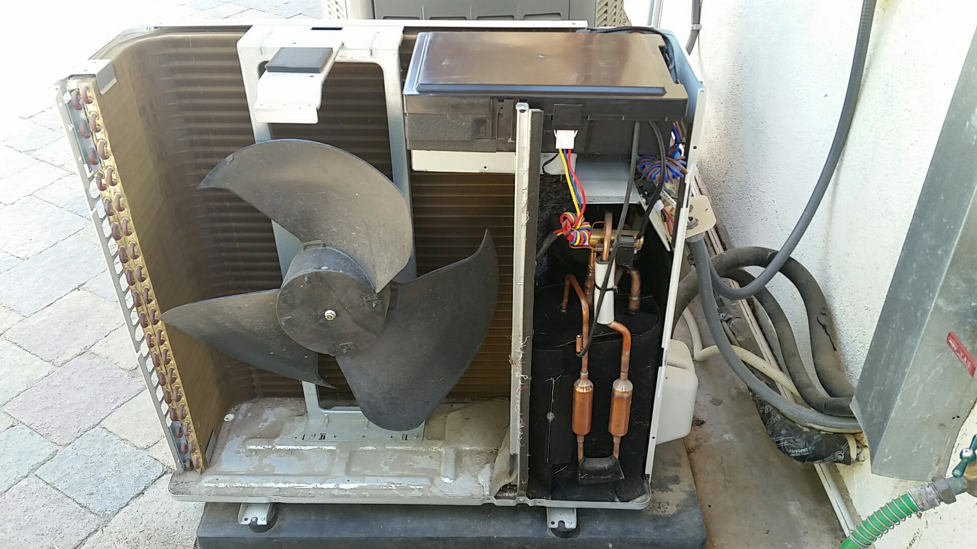 Santa Ana, CA - Warranty work on LG ductless mini split air conditioning system