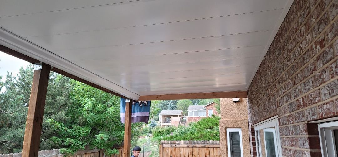 Palmer Lake, CO - We installed a new custom fabricated Dry deck system on this home in Palmer Lake. He now has a new are to relax outside!