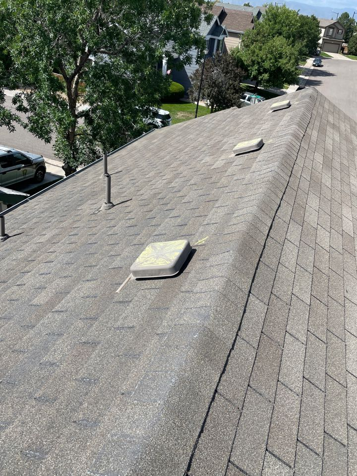 Littleton, CO - Our initial inspection is always free. We also find it important to meet with the insurance adjuster furring the adjustment. Both of those services are free!