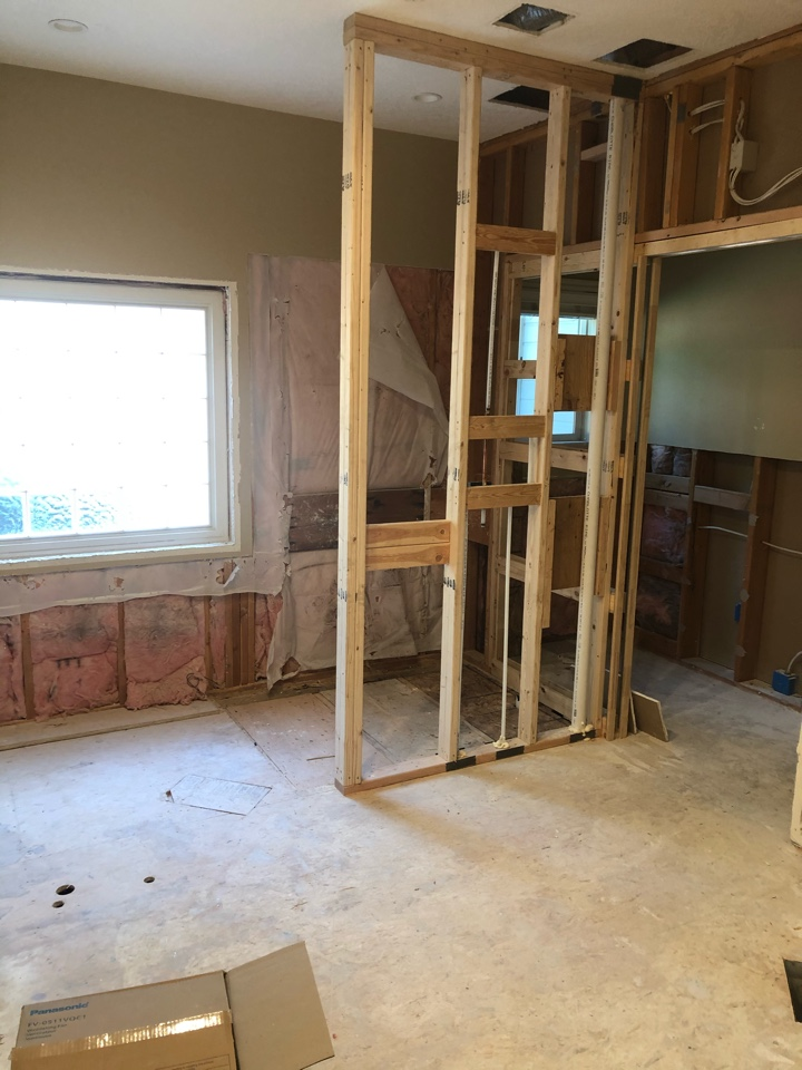 Boise, ID - We are removing a large corner tub and make a zero threshold large shower and ADA access to the toilet - total gut.