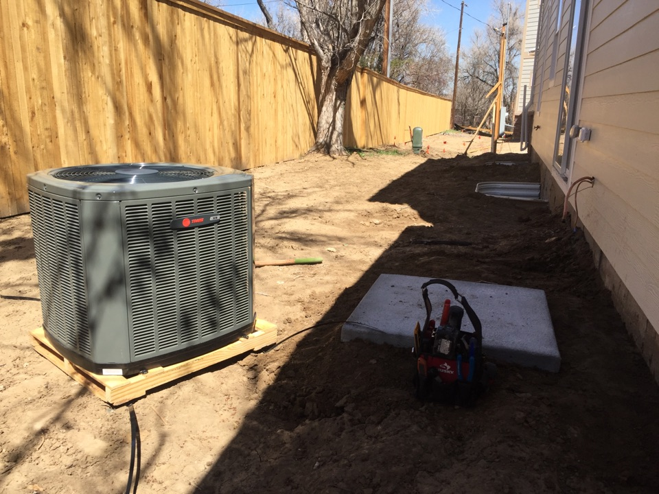Wheat Ridge, CO - Installing a new air conditioner