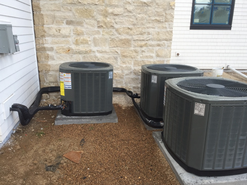 Littleton, CO - Performed new installation of 3 trane Air conditioners